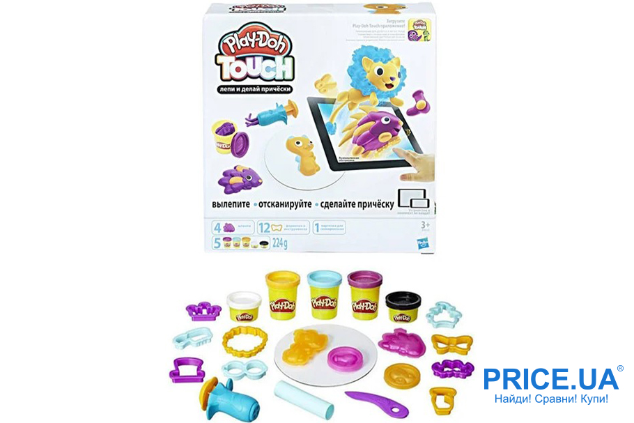Топ игровых наборов для детей. Play-Doh Touch