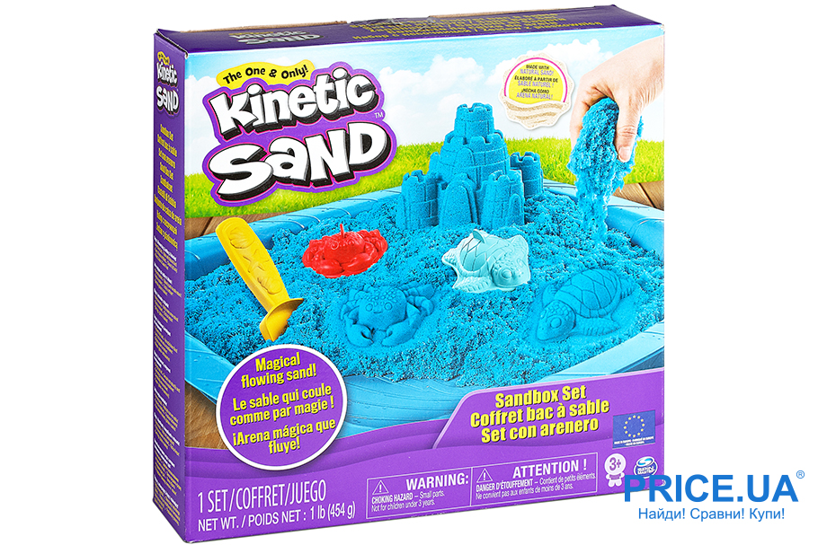 Топ игровых наборов для детей. Кинетический песок