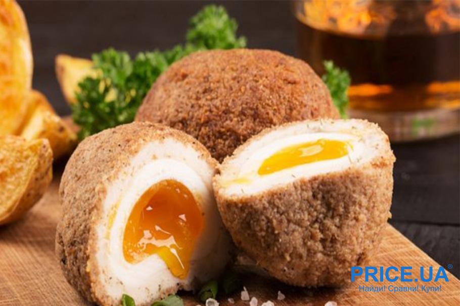 Рецепты блюд из яиц. Яйца по-шотландски