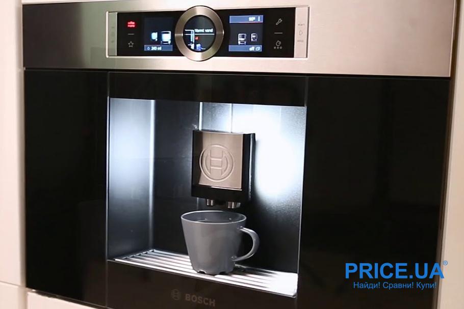 Рейтинг кофемашин-автоматов для дома: топ-10. Bosch CTL636ES1