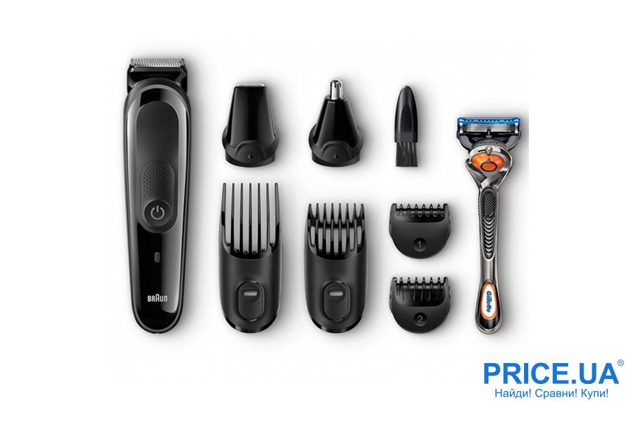 Лучшие модели триммеров для волос. Braun MGK 3060