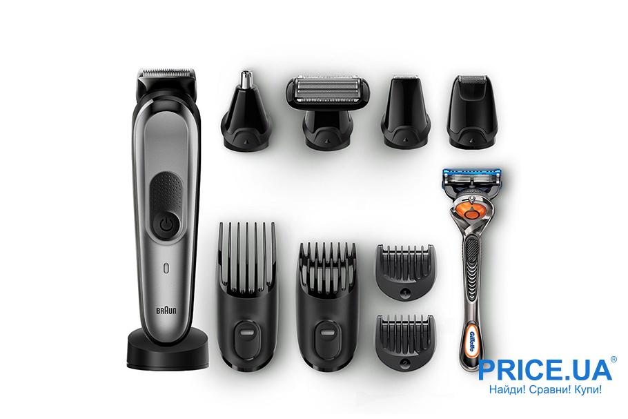 Лучшие модели триммеров для волос. Braun MGK 7021