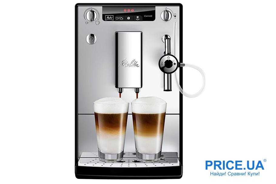 Рейтинг кофемашин-автоматов для дома: топ-10. Melitta Caffeo Solo