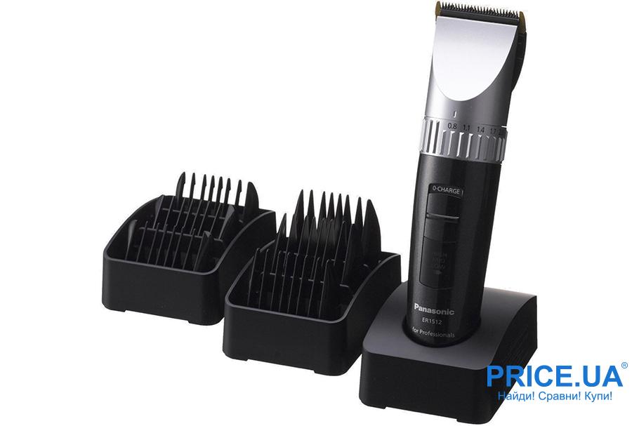 Лучшие модели триммеров для волос. Panasonic ER 1512