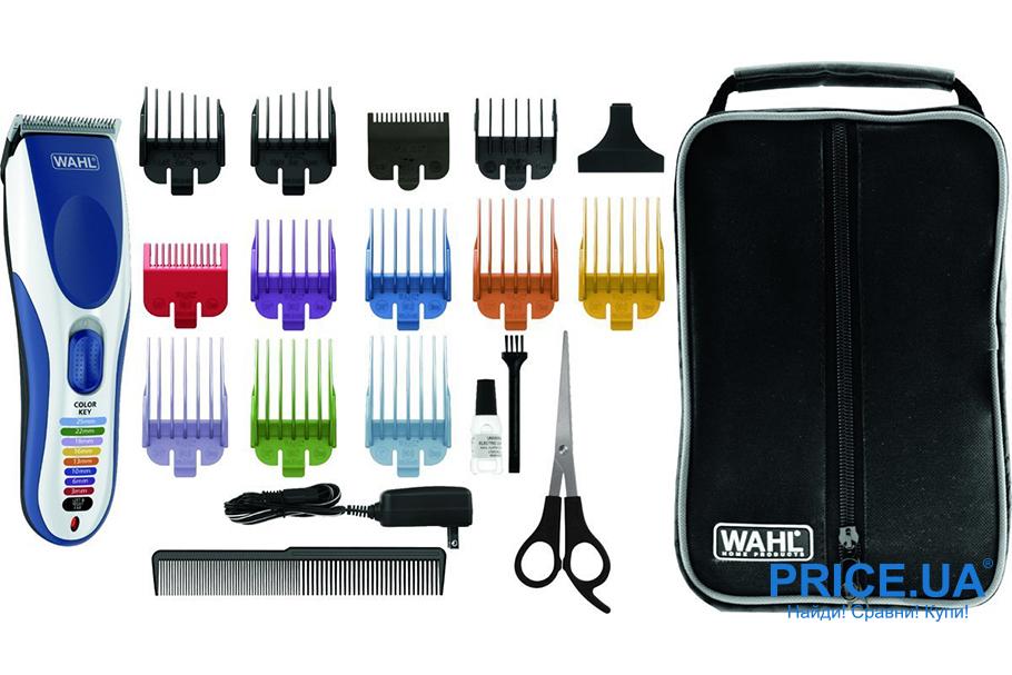 Лучшие модели триммеров для волос. Wahl Color Pro 09649-916