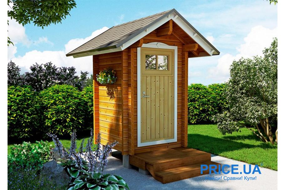 Туалет на даче собственными силами: лайфхак. Выбор материала