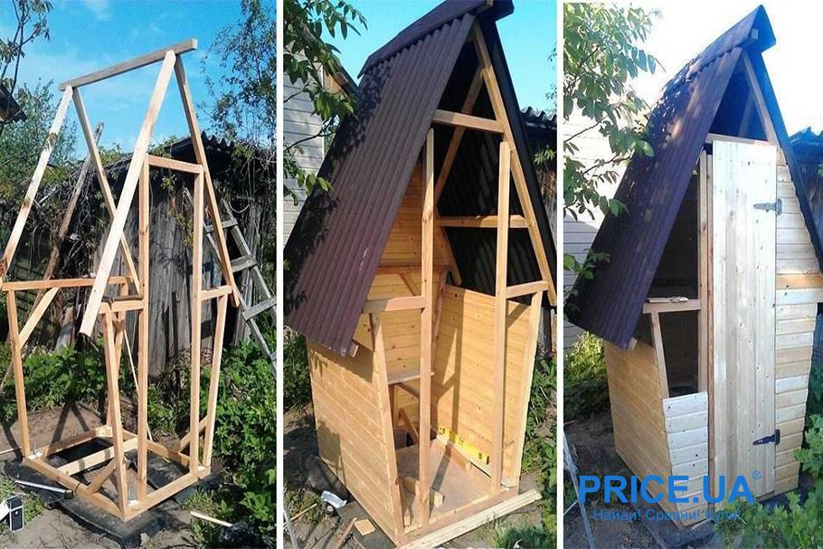 Туалет на даче собственными силами: лайфхак. Порядок постройки