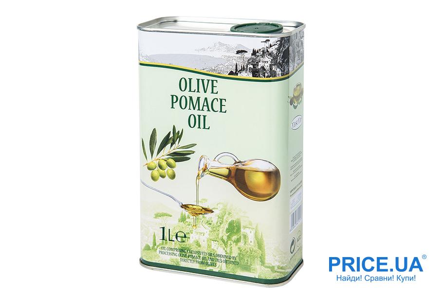 Оливковое масло: как выбрать для жарки? Olive-pomace oil