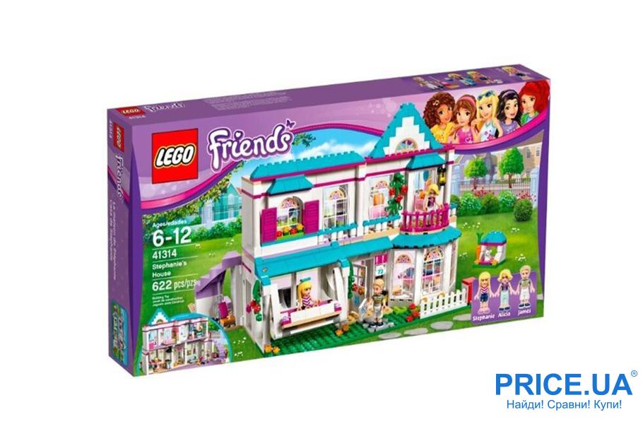 Классные подарки ребенку, которых у него точно нет. LEGO Friends 41314 Дом Стефани