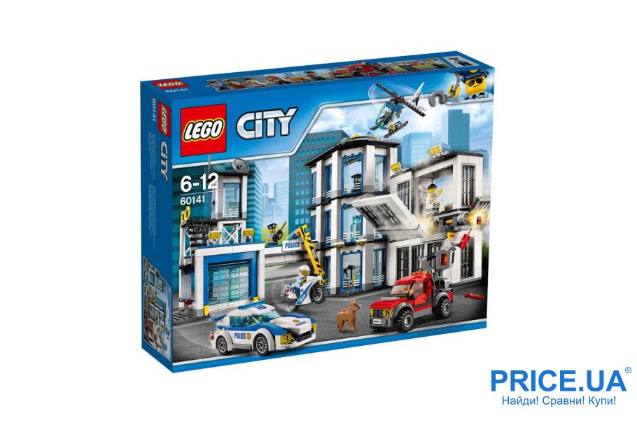 Классные подарки ребенку, которых у него точно нет. LEGO City 60141 Полицейский участок