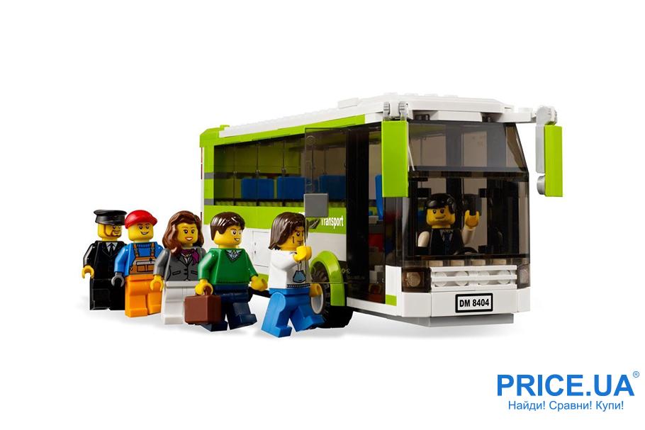 Классные подарки ребенку, которых у него точно нет. LEGO City 8404 Общественный транспорт