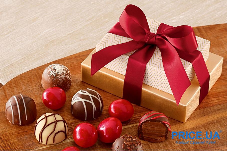 Идеи презентов в знак благодарности. Красивая коробка конфет