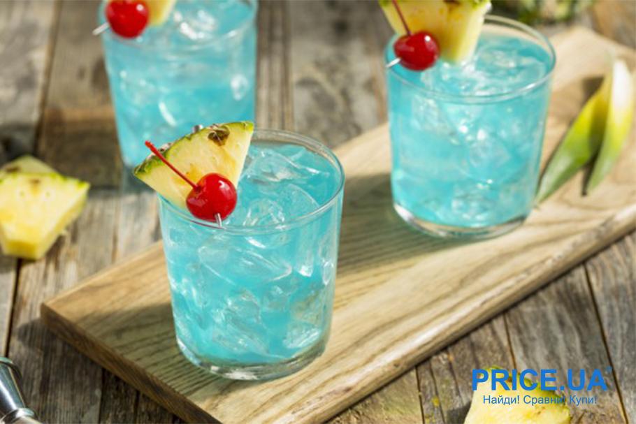 Как подготовить летнюю вечернику? Красочные коктейли