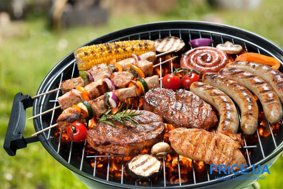 Как подготовить летнюю вечернику?  Грилим на даче