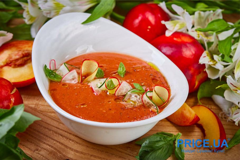 Холодные супы: топ-3 хитов лета. Гаспачо