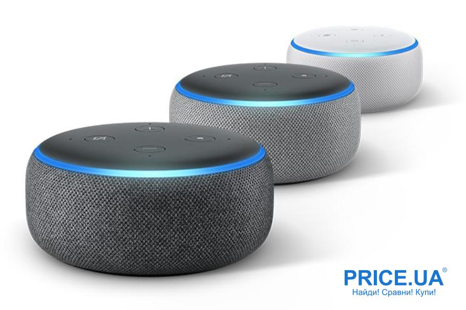 Топ голосовых помощников: какой выбрать. Amazon Echo (Alexa)