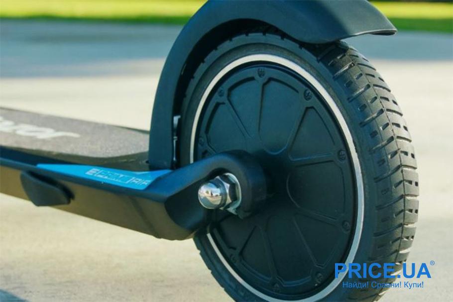 Советы по выбору электросамоката. Размер колес