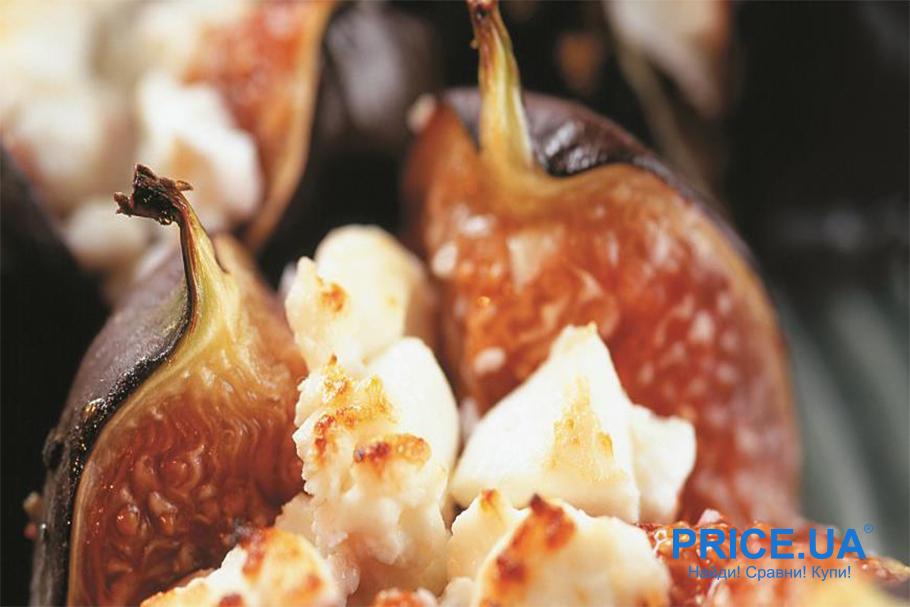 Супер рецепты из инжира. Запеченный инжир с творогом, розмарином и медом