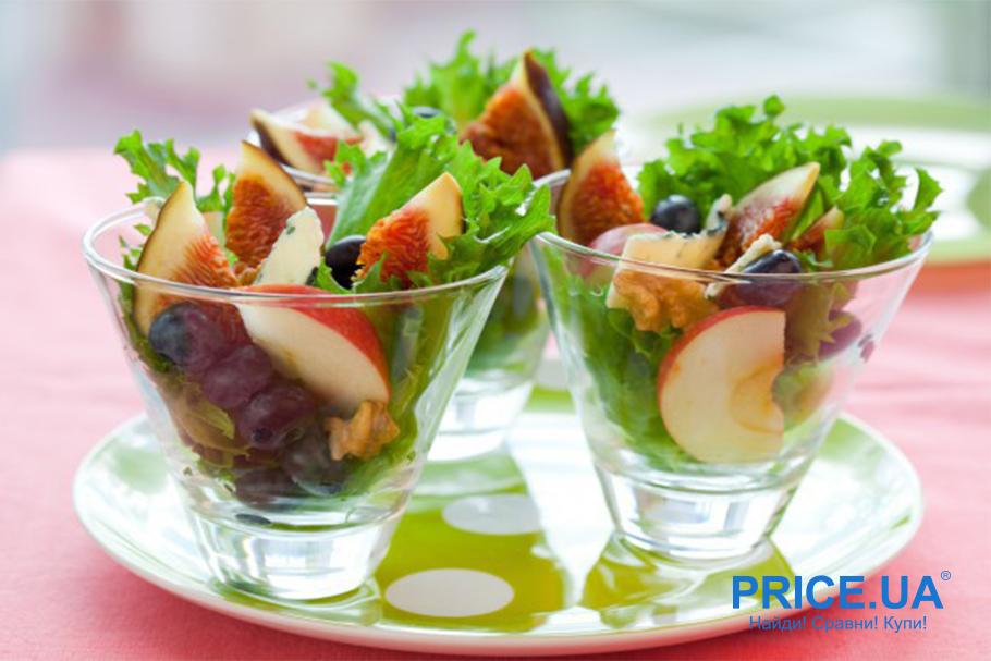 Супер рецепты из инжира. Салат из инжира и сыра с голубой плесенью