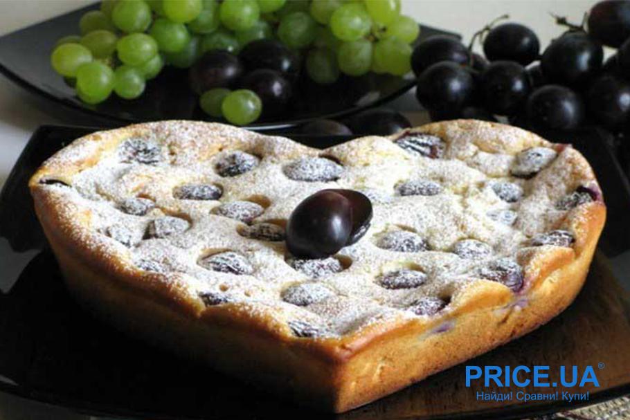 Хитовые рецепты из винограда. Пирог с виноградом от Джейми Оливера