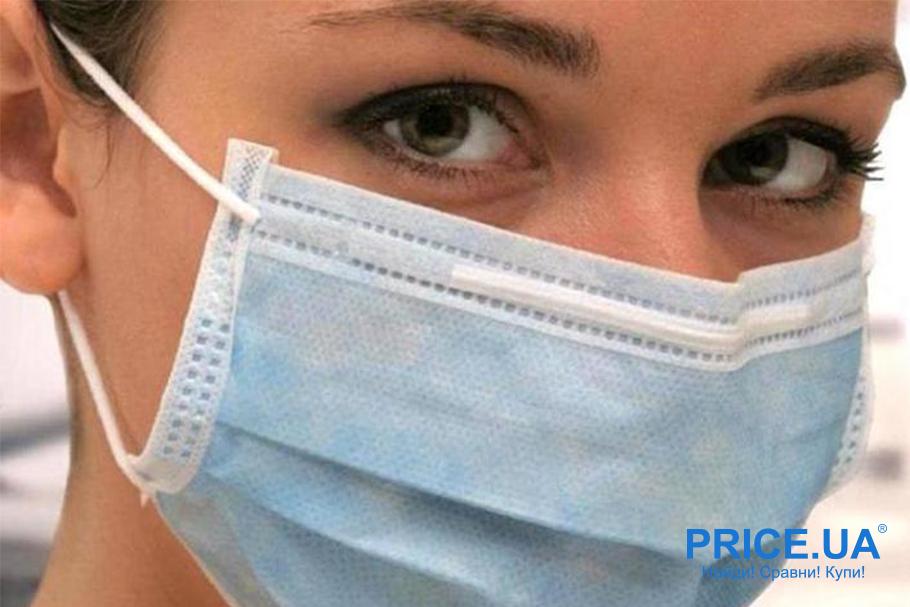 Важные правила ношения масок. Синяя сторона -наружная