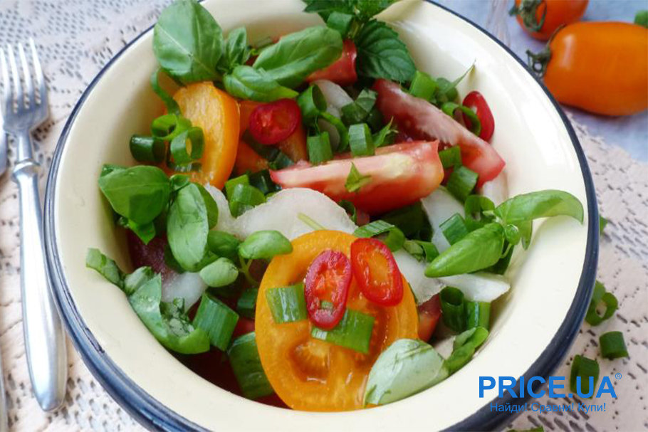 Крутые и вкусные блюда из дыни. Салат с дыней
