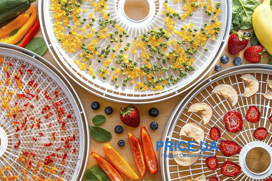 ТОП-5 сушилок для овощей и фруктов