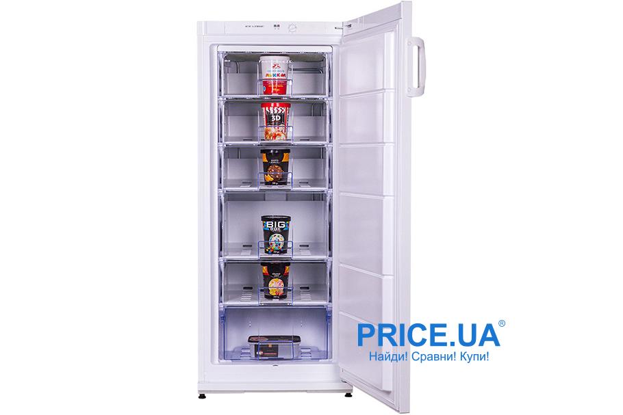 ТОП-7 лучших морозильников-шкафов